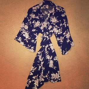 Spiritual Gangster Floral Kimono